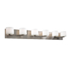 PLC Lighting 6-Light De Lion Satin Nickel Standard Bathroom Vanity Light