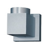 Kendal Lighting 4-in W 1-Light Silver Arm Wall Sconce