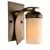 Varaluz 5-1/2-in W Aizen 1-Light Aspen Bronze Arm Wall Sconce