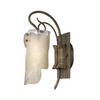 Varaluz 5-1/4-in W Soho 1-Light Natural Arm Wall Sconce