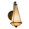 Varaluz 4-in W Two-If-By-Sea 1-Light Steeple Chase Arm Wall Sconce