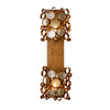 Varaluz 7-1/2-in W Fascination 2-Light Hammered Ore Arm Wall Sconce