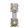 Varaluz 7-1/2-in W Fascination 2-Light Nevada Arm Wall Sconce
