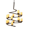 Artcraft Lighting 14-Light Candlelight Oil-Rubbed Bronze Chandelier