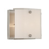Artcraft Lighting 4-7/8-in W Brentwood 1-Light Brushed Nickel Pocket Wall Sconce