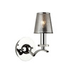 Artcraft Lighting 5-1/2-in W Brera 1-Light Chrome Arm Wall Sconce