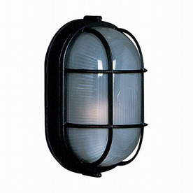Artcraft Lighting Marine 8-1/4-in Black Outdoor Wall Light