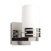 Artcraft Lighting Seattle 4.75-in W 1-Light Polished Chrome Pocket Hardwired Wall Sconce
