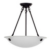 Whitfield Lighting 24-in W Black Pendant Light