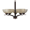Whitfield Lighting 5-Light Mickayla Coffee Chandelier