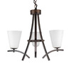Whitfield Lighting 3-Light Ashley Oil-Rubbed Bronze Chandelier