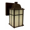 Whitfield Lighting 8-3/4-in Oil-Rubbed Bronze Outdoor Wall Light ENERGY STAR
