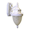 Whitfield Lighting 15-1/4-in White Outdoor Wall Light