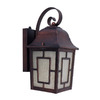 Whitfield Lighting 12-in Oil-Rubbed Bronze Outdoor Wall Light