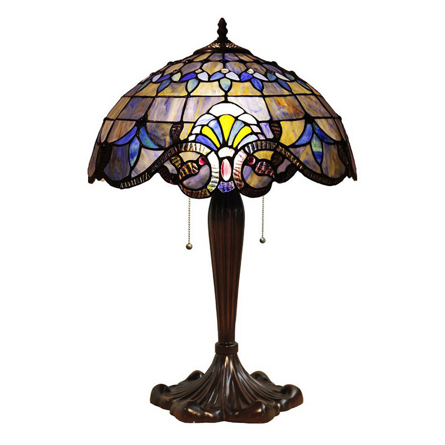 chloe lighting 24 in tiffany style indoor table lamp with glass shade. Black Bedroom Furniture Sets. Home Design Ideas