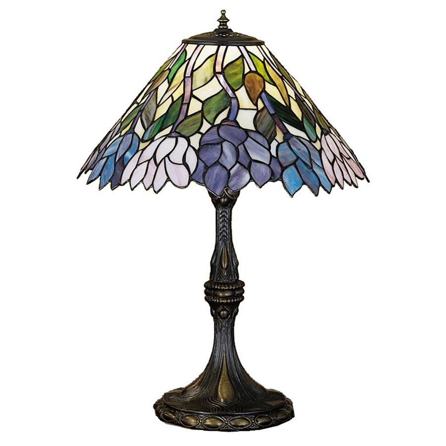 meyda tiffany 24 5 in tiffany style indoor table lamp with glass shade. Black Bedroom Furniture Sets. Home Design Ideas
