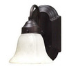 Volume International 6-in W Minster 1-Light Prairie Rock Arm Wall Sconce