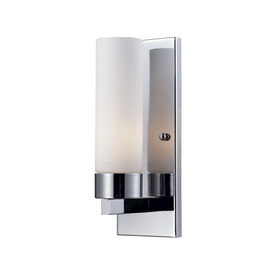 Z-Lite 5-in W Ibis 1-Light Chrome Arm Wall Sconce