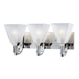 Lowes Crystal Vanity Lights : Shop Z-Lite 3-Light Luxe Chrome Crystal Accent Bathroom Vanity Light at Lowes.com
