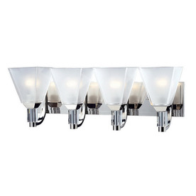 Shop Z-Lite 4-Light Luxe Chrome Crystal Accent Bathroom Vanity Light at Lowes.com