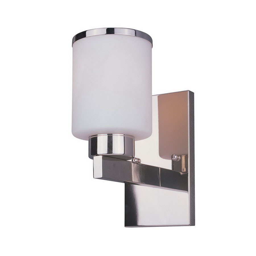 Shop Z-Lite Cosmopolitan 4.5-in W 1-Light Chrome Arm Hardwired Wall Sconce at Lowes.com