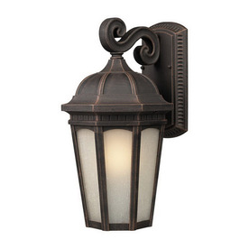 Z-Lite Newport 11-7/8-in Antique Bronze Outdoor Wall Light