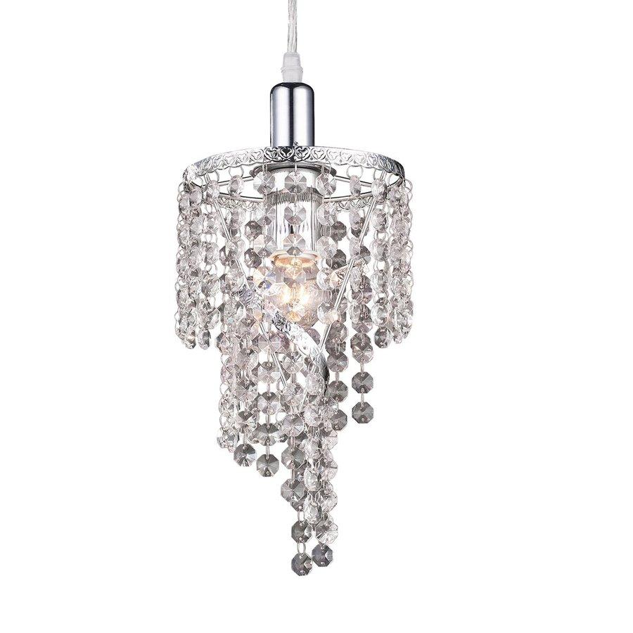 Z Bar Mini Lamp: Shop Z-Lite Petite Chandeliers 6-in W Chrome Crystal Mini