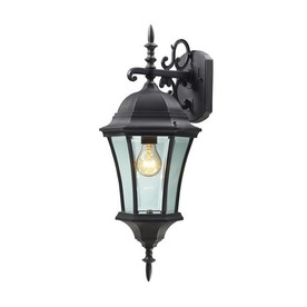 Z-Lite Wakefield 24-in Black Outdoor Wall Light