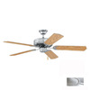 Thomas Lighting 52-in Paddle Brushed Nickel Ceiling Fan