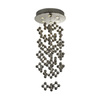 Trend Lighting 6-Light Jax Polished Stainless Steel Chandelier