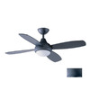 Kendal Lighting 42-in Aviator Wrought Iron Ceiling Fan with Light Kit and Remote