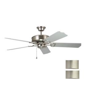 Kendal Lighting 52-in Excellence Satin Nickel Ceiling Fan ENERGY STAR