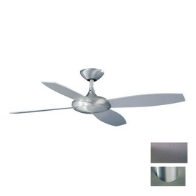 Kendal Lighting 52-in Orbit Brushed Aluminum Ceiling Fan with Remote