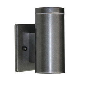 EGLO Riga 6-in Anthracite Outdoor Wall Light
