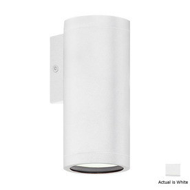 EGLO Riga 6-in White Outdoor Wall Light