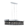 EGLO 7-Light Faenza Island Chrome Chandelier