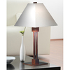 Kenroy Home Grafton 26-in 3-Way Bronze Table Lamp with Fabric Shade