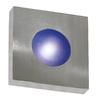 Kenroy Home Burst 10-in W 1-Light Brushed Steel Pocket Hardwired Wall Sconce