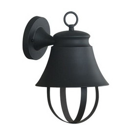 Kenroy Home Claudine 13-in Espresso Bronze Dark Sky Outdoor Wall Light ENERGY STAR
