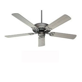 Nicor Lighting 52-in Chateau Brushed Pewter Ceiling Fan