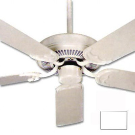 Nicor Lighting 52-in Chateau White Ceiling Fan