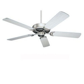 Nicor Lighting 52-in Masterbuilder Pewter Ceiling Fan ENERGY STAR