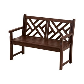 Shop Polywood 47 5 In L Patio Bench At