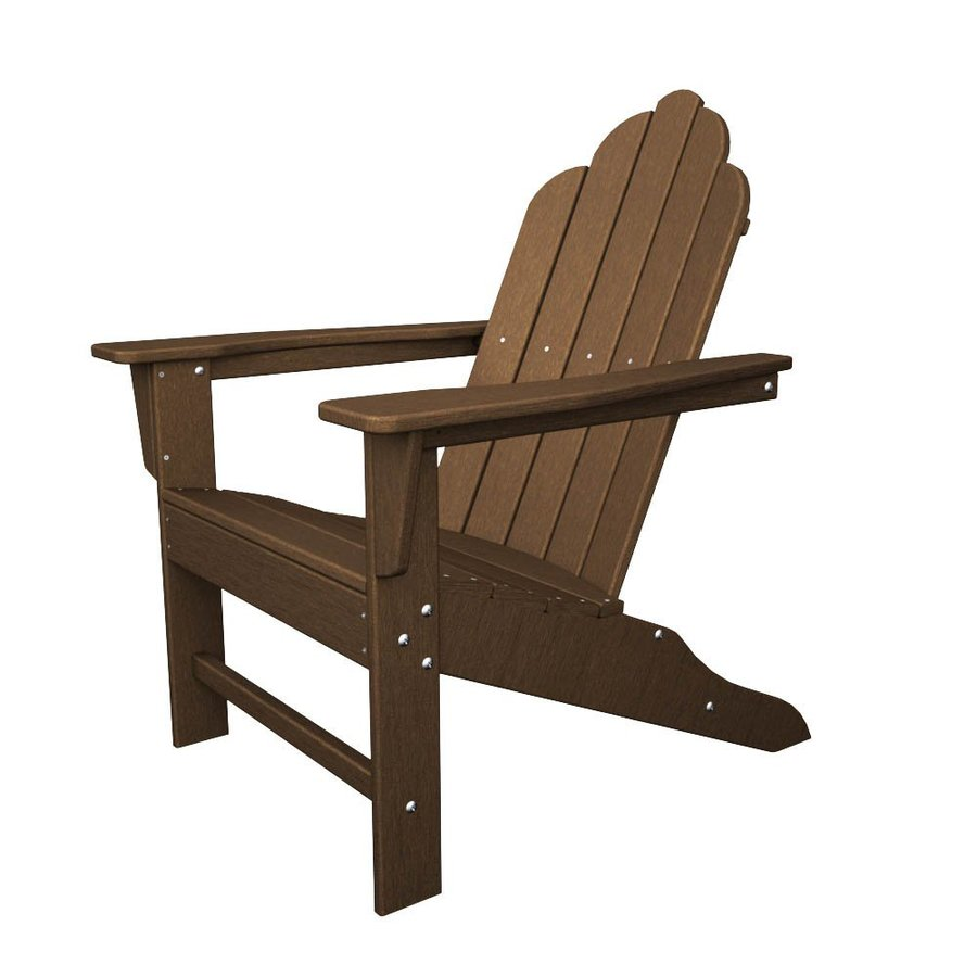 Shop Polywood Long Island Teak Recycled Plastic Casual
