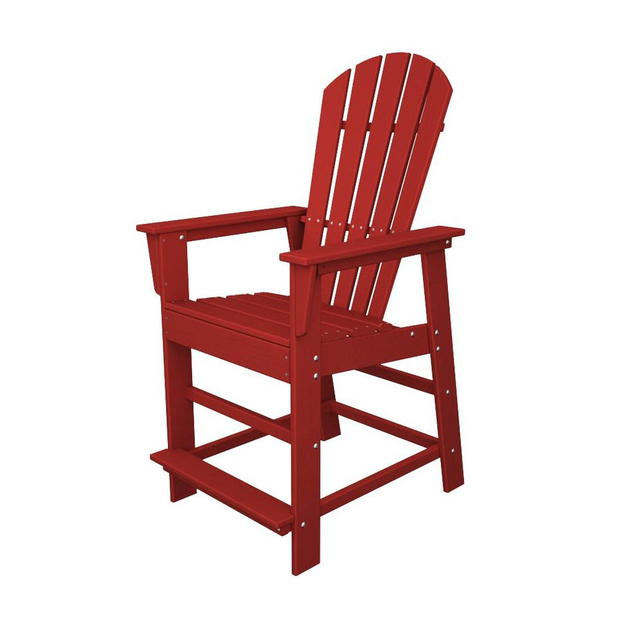 Shop POLYWOOD South Beach Sunset Red Recycled Plastic