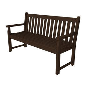 POLYWOOD 59.5-in L Patio Bench