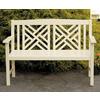 ACHLA Designs 48-in L Patio Bench