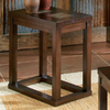 Steve Silver Company Alberto Brown Oak Rectangular End Table