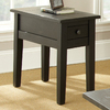 Steve Silver Company Liberty Black Rectangular End Table