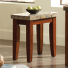 Steve Silver Company Montibello Burnished Medium Cherry Rectangular End Table